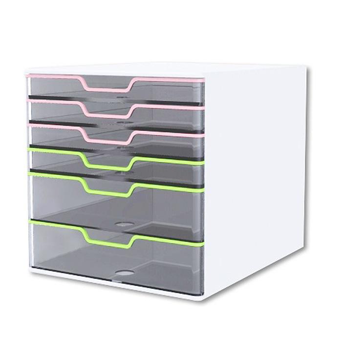 Kapamax 韓國雙色水晶透明文件櫃 Afelda Shop